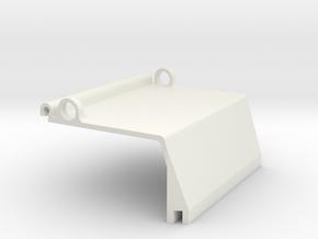 front_shield_left in White Natural Versatile Plastic