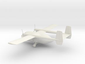 IAI Arava in White Natural Versatile Plastic: 1:72