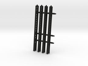 24-M-8 Katyusha Launcher Right Rails Scale 1:35 in Black Premium Versatile Plastic