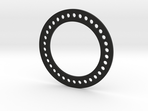 Bead Lock Ring for RC4WD Deep Dish Wheels 1.9 in Black Natural Versatile Plastic