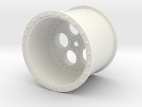 Eagle Rims Design 2 in White Natural Versatile Plastic
