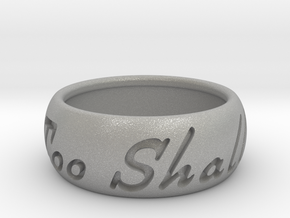 This Too Shall Pass Size ring size 10 1/2 in Aluminum