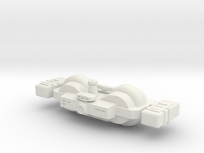 Omni Scale General Large Freighter (In Ballast) SR in White Natural Versatile Plastic