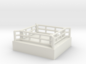 Boxring (mobil) - 1:220 in White Natural Versatile Plastic