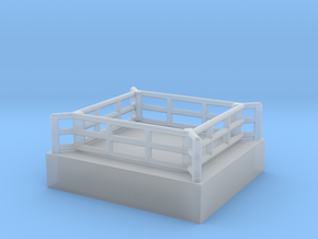 Boxring (mobil) - 1:220 in Smooth Fine Detail Plastic