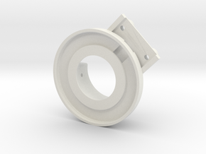 rampage_encoder_mount_right_front in White Natural Versatile Plastic