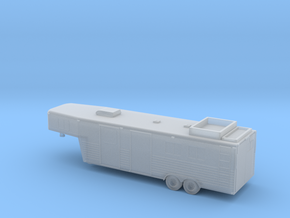 1/200 Horse  Trailer in Smooth Fine Detail Plastic