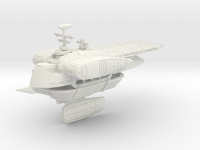 Last Exile. Silvius (Cruise Mode) in White Natural Versatile Plastic