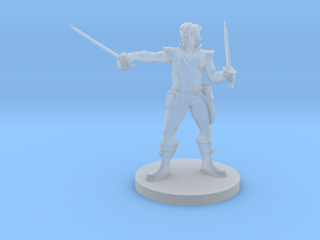 Swashbuckler in Smooth Fine Detail Plastic