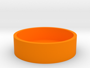 O-Korto Box Base USA Dollar in Orange Processed Versatile Plastic