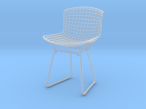 Knoll Bertoia Side Chair Frame 1:12  Scale in Smooth Fine Detail Plastic