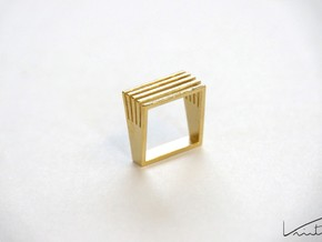 Square Array in Raw Brass: 8 / 56.75