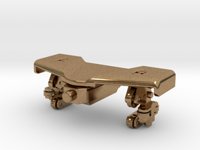 Front train small in Natural Brass (Interlocking Parts)