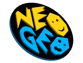 Logo NeoGeo in Full Color Sandstone