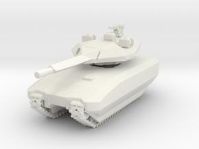 Miniature PL01 - Polish Concept Tank in White Natural Versatile Plastic: 1:72
