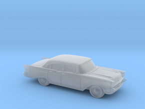 1/120 1X 1957 Chevrolet One Fifty Sedan in Smooth Fine Detail Plastic