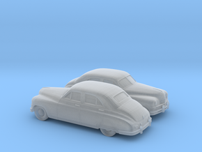 1/120 2X 1948-50 Packard Super Eight Series Sedan in Frosted Ultra Detail