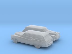 1/120 2X 1950 Buick Roadmaster Station Wagon in Frosted Ultra Detail