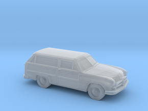 1/120 1X 1949 Ford Custom Station Wagon in Smooth Fine Detail Plastic