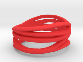 My Awesome Ring Design Ring Size 8 in Red Strong & Flexible Polished: Small