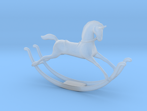 Printle Thing Rocking Horse - 1/24 in Smooth Fine Detail Plastic