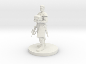 Librarian Ranger in White Natural Versatile Plastic