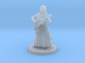 Half Elf Female  Bard in Smooth Fine Detail Plastic