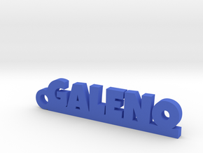 GALENO_keychain_Lucky in Blue Processed Versatile Plastic