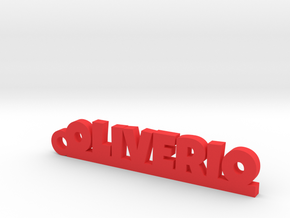 OLIVERIO_keychain_Lucky in Red Processed Versatile Plastic