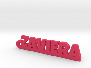 ZAVIERA_keychain_Lucky in Pink Processed Versatile Plastic