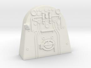 A0 - A1 Backhead Controls LHD in White Natural Versatile Plastic