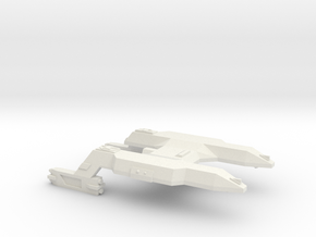 3788 Scale Lyran Panther Light Cruiser (CL) CVN in White Natural Versatile Plastic