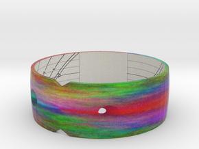 """Sundial Bangle 42N 3.1"""" in Full Color Sandstone"""