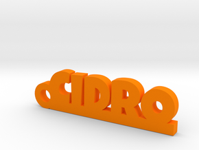 CIDRO_keychain_Lucky in Orange Processed Versatile Plastic