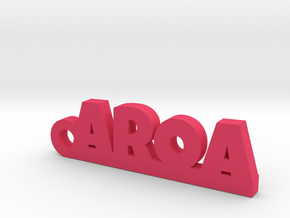 AROA_keychain_Lucky in Pink Processed Versatile Plastic
