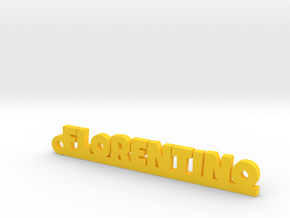 FLORENTINO_keychain_Lucky in Smooth Fine Detail Plastic