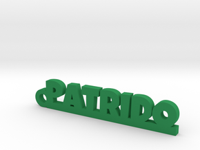 PATRIDO_keychain_Lucky in Smooth Fine Detail Plastic