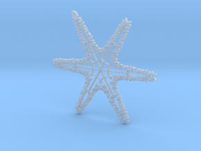 Benjamin snowflake ornament in Smooth Fine Detail Plastic