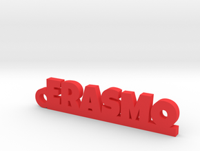 ERASMO_keychain_Lucky in 18k Gold Plated Brass