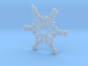 Mason snowflake ornament in Smooth Fine Detail Plastic