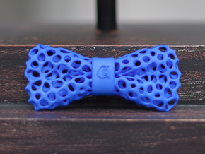 ORGANIC Bowtie by BITS TAILOR - READ DESCRIPTION in Blue Strong & Flexible Polished