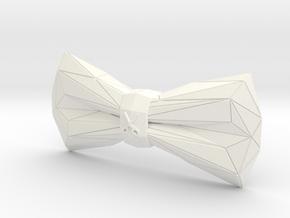 ORIGAMI Bowtie by BITS TAILOR - READ DESCRIPTION in White Processed Versatile Plastic
