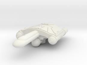 3788 Scale Romulan SaberHawk Heavy War Destroyer W in White Natural Versatile Plastic