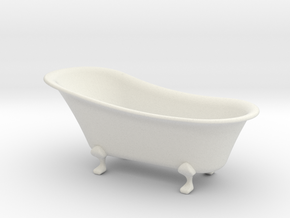 bathtub 1-12  in White Natural Versatile Plastic