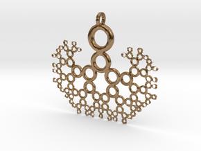 FTT Pendant in Natural Brass
