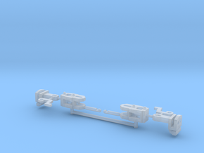 2x-couplers in Smooth Fine Detail Plastic
