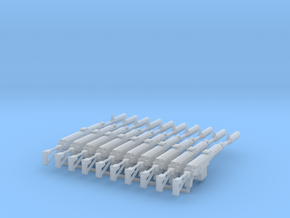 SVD-K lasguns in Smooth Fine Detail Plastic