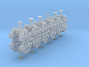 28mm Mechano cult robot tracks in Frosted Extreme Detail