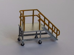 HO Train Access Stairs in Smooth Fine Detail Plastic
