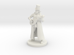 Forest Guardian Bard in White Natural Versatile Plastic